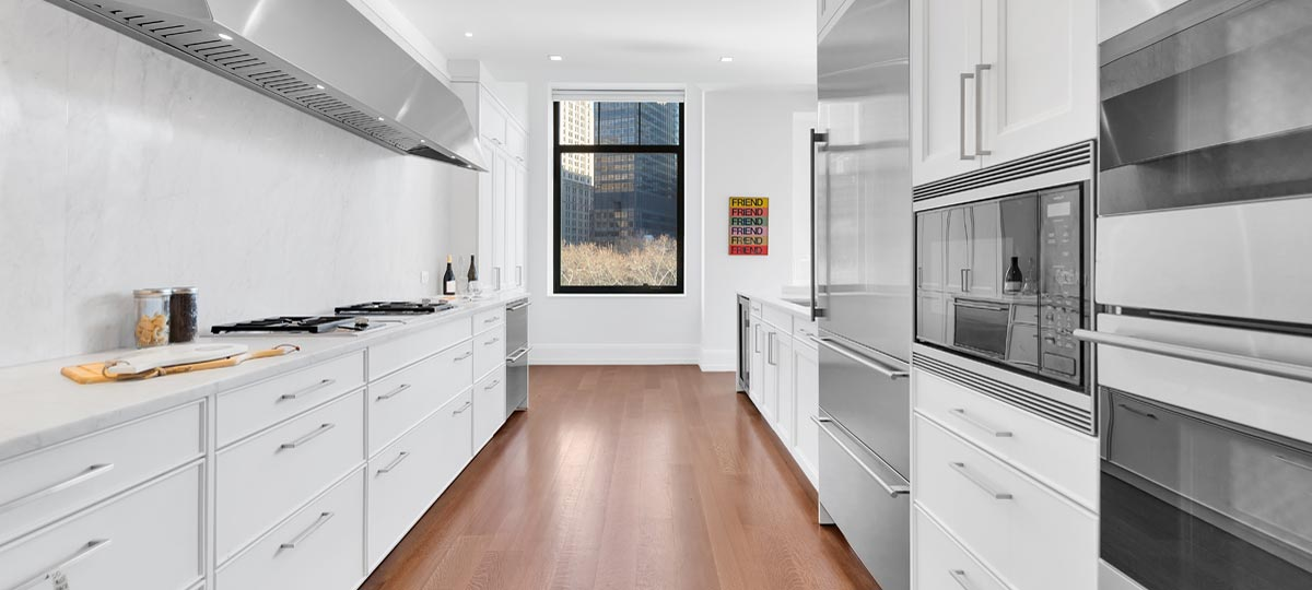 10 Madison Square West New Kitchen