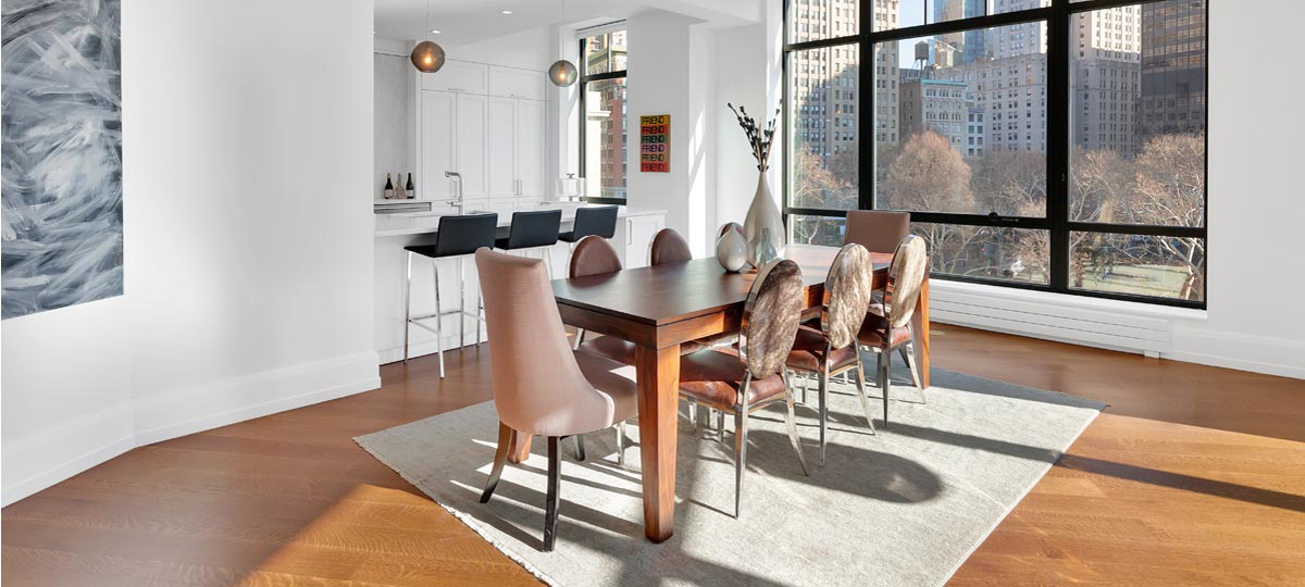 10 Madison Square West New Dining Area
