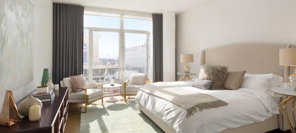 520 West 19th, NY, Master Bedroom