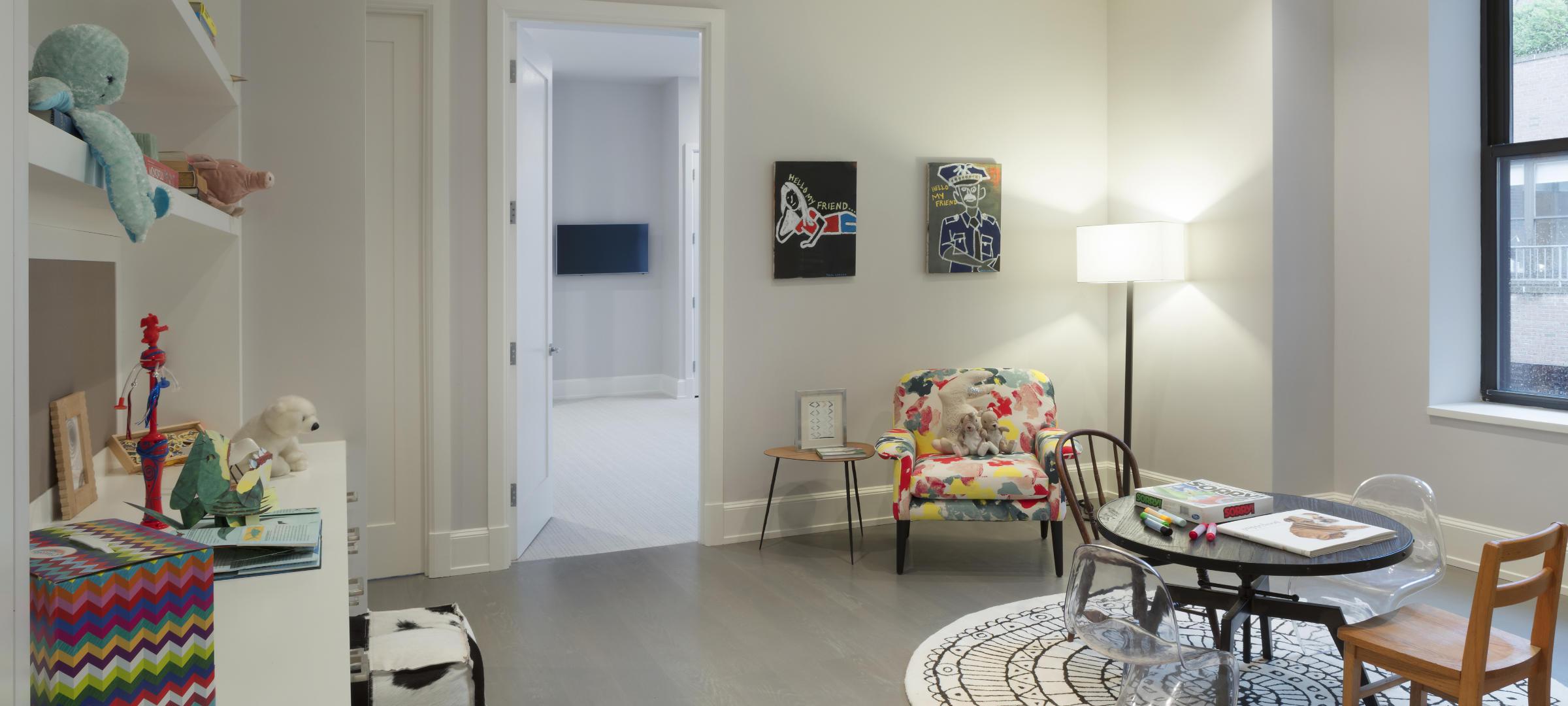 SBSG Interior Design Bedroom 260 Park Avenue South, NY