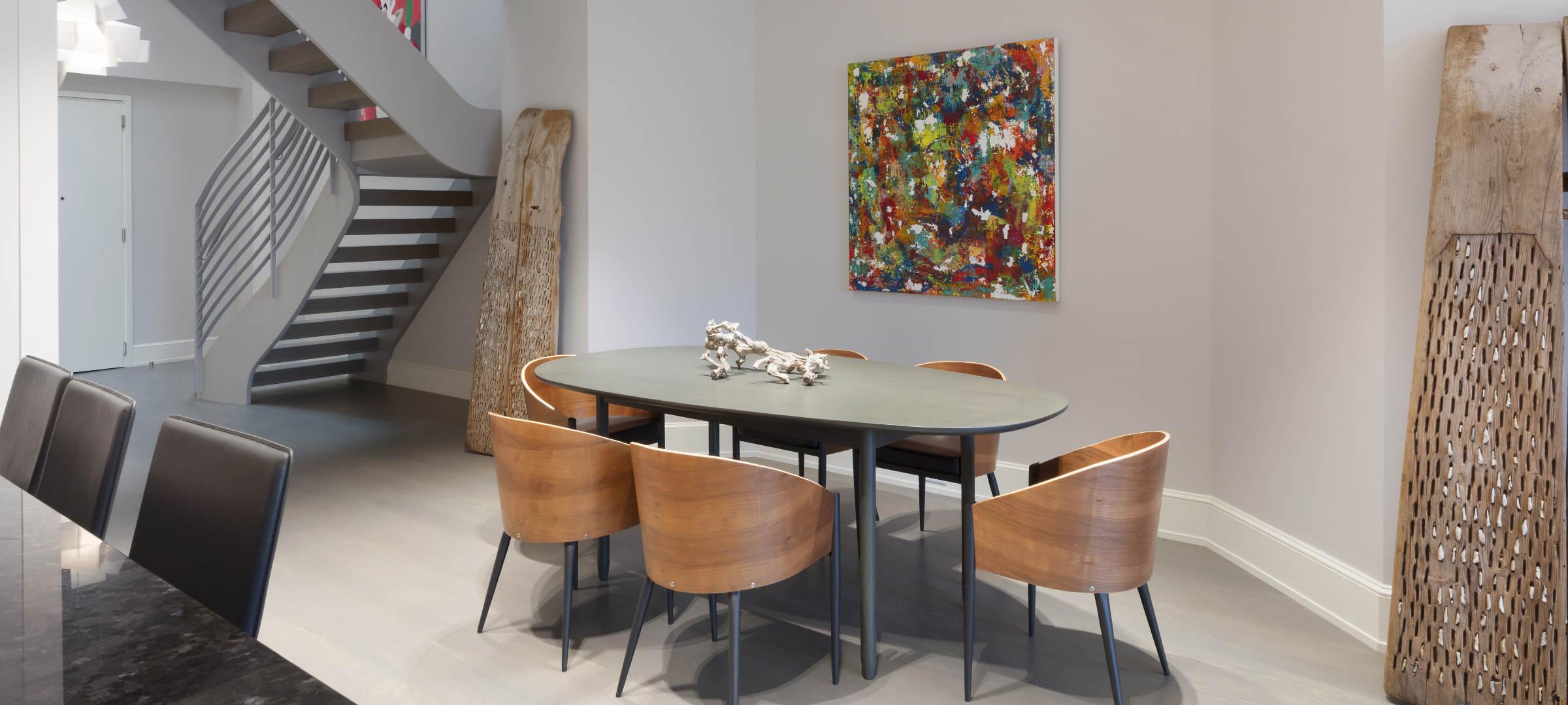 SBSG Interior Design Dining Room 260 Park Avenue South, NY