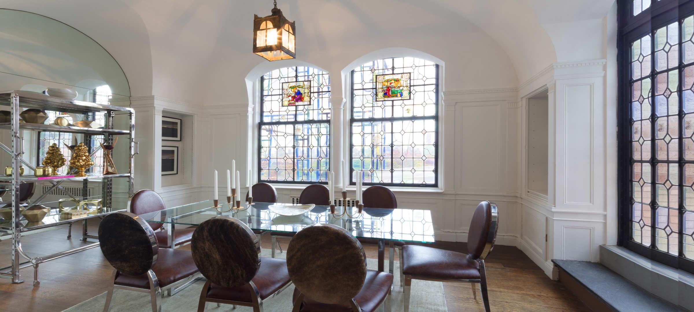 SBSG Interior Design Dining Room 91 Central Park West, NY